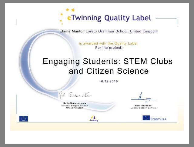 e-Twinning Quality Label